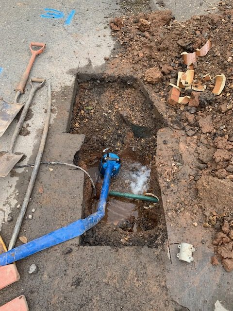 Pipe work repair